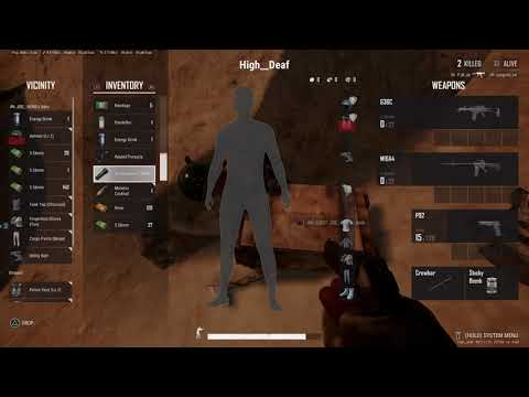 PLAYERUNKNOWN'S BATTLEGROUNDS Fist Game in a while 9kills  