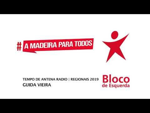 Tempo de Antena Rádio | Bloco de Esquerda Madeira | ER 2019 | Guida Vieira