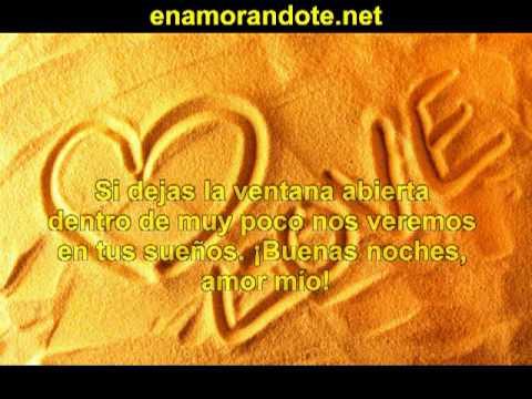 Poema De Amor De Buenas Noches Para Decirle Buenas Noches Unos
