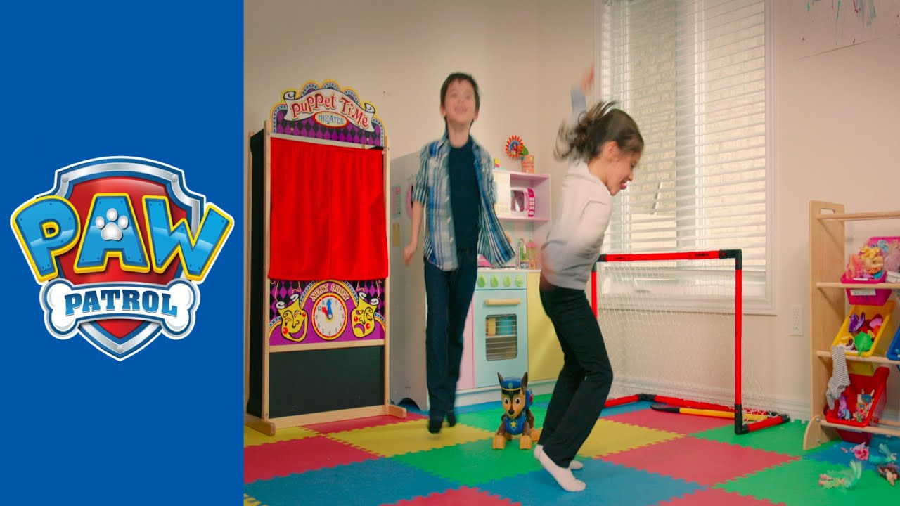 Paw Patrol Dance Mat Paw Patrol Mission Chase Do The Pup