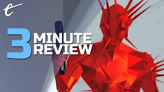 Superhot: Mind Control Delete | Review in 3 Minutes (Video Game Video Review)