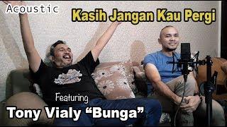 """Kasih Jangan Kau Pergi (Bunga Band) - Acoustic Cover Pandek & Joe Iswandi Feat. Tony """"Bunga"""" Vialy"""