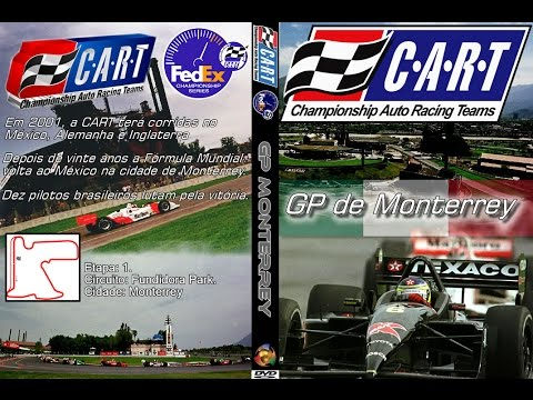 CART 2001 FedEx Championship Series - Round 1 - Tecate/Telmex Monterrey Grand Prix Fundidora Park P1