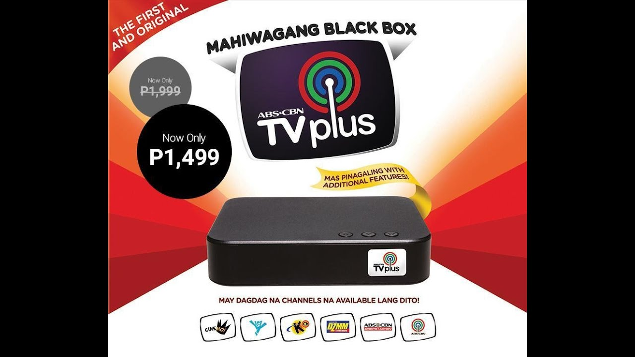 Abs Cbn Tv Plus Auto Search 40 Channels Foundstock Antenna Tv Plus
