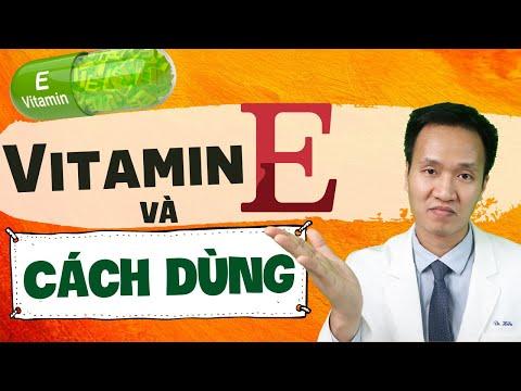 Cách bổ sung Vitamin E cho cuộc sống khoẻ và đẹp | Dr Hiếu