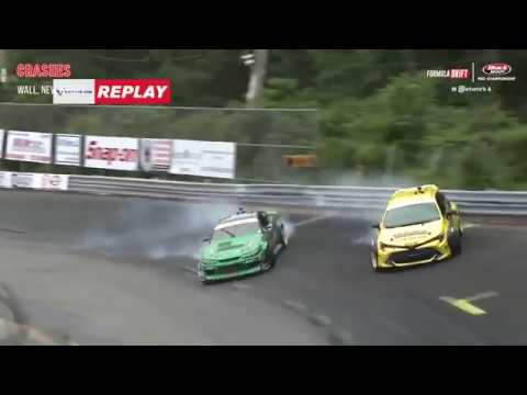 Formula Drift 2018: Wall, NJ Crashes