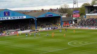 Mickey Demetriou goal v Carlisle away