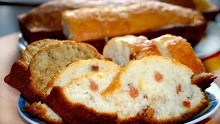 Очень вкусный кекс на кефире с изюмом.
