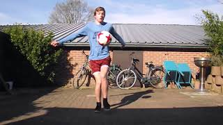 Tim Bonnarens Freestyle Football - 5 Weeks Of Lowers