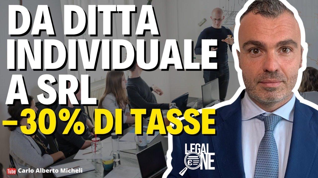 Download Da Ditta individuale a Srl -30% di TASSE