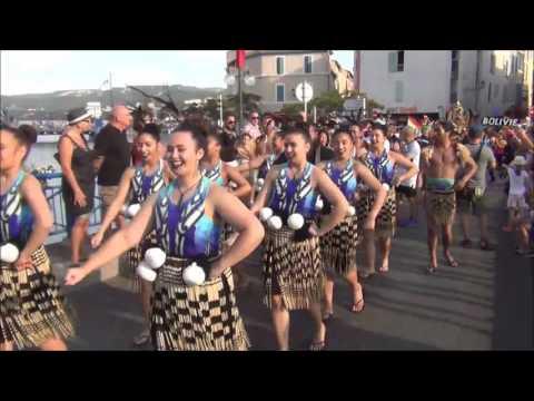 Fang-Shiang (Taiwan) & Whitireia (Nouvelle-Zélande) - Festival de Martigues 2017