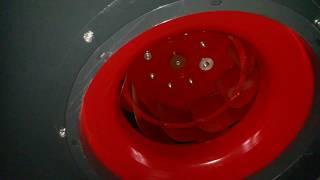 Qismi 10. Spiral bir uy-joy bilan Radial fan (davomi)