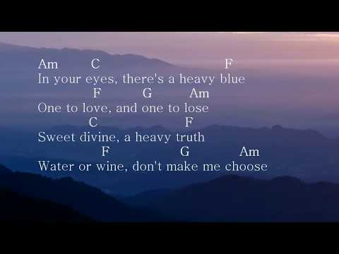 Wolves [ Selena Gomez & Marshmello] - Acoustic Guitar Beat/ Chord/Lyric