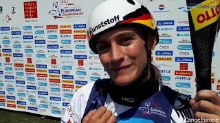 Ricarda Funk (GER) - 2018 K1W Canoe Slalom European Champion