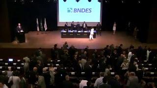 Cerimônia de transmissão do cargo de Presidente do BNDES para Joaquim Levy