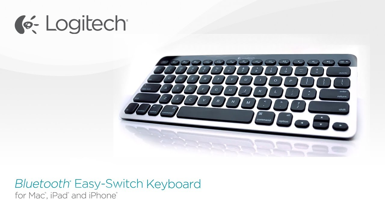 Logitech Bluetooth Easy Switch Keyboard For Mac IPad And IPhone