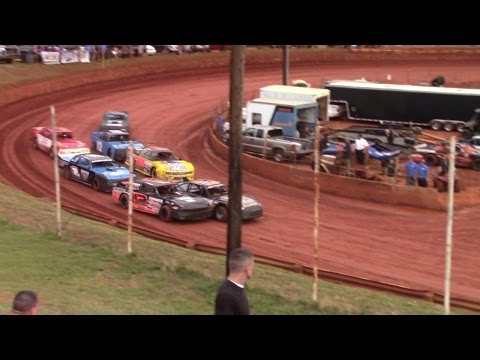 Winder Barrow Speedway Modified Street Feature 6/18/16