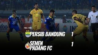 [Pekan 19] Cuplikan Pertandingan  Persib Bandung vs Semen Padang FC, 18 September 2019