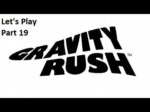 Lets play Gravity Rush PS VITA Part 19 - Falling To Pieces