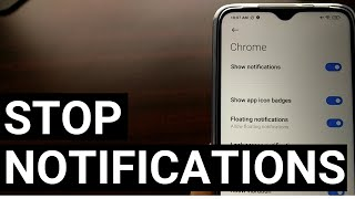 Block a Website from Sending Notifications in Chrome