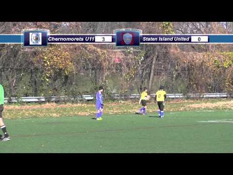 Chernomorets U11 vs. Staten Island United