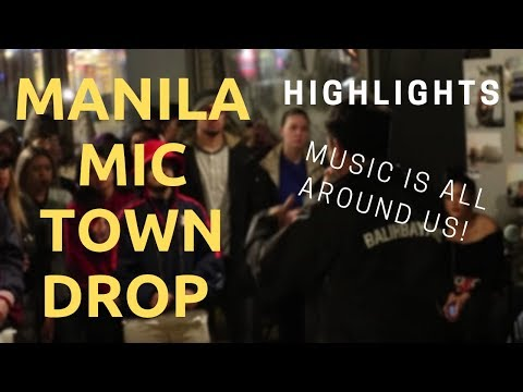 MANILA MIC TOWN DROP | Creating a space for artists at the I