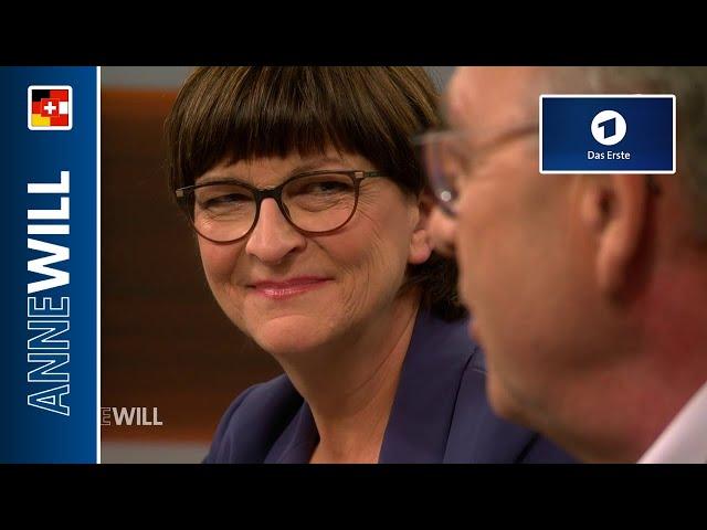 Anne Will - 01.12.2019 - Die SPD wählt linke Spitze - zerbricht jetzt die GroKo? (ARD)