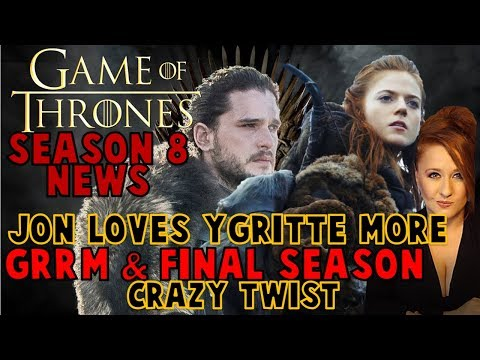 Jon Loves Ygritte More, GRRM Gave Plot, Maisie Letting Go: Game of Thrones Interviews
