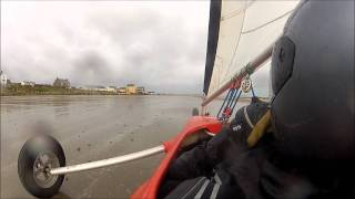 Land Sailing with a GoPro HD