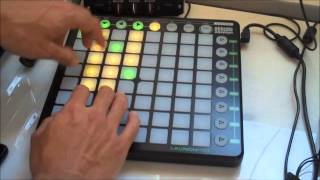 Billy Ocean - Caribbean Queen Remix - Novation Launchpad Demo