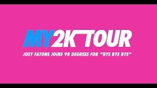 joey fatone joins 98 degrees for bye bye bye