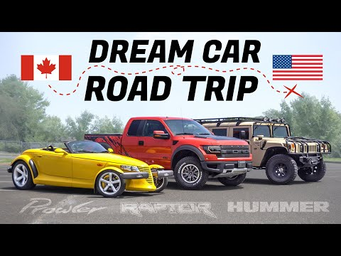 Attainable Dream Car Road Trip  Ford Raptor, Plymouth Prowler, @ChrisFix  Hummer H1