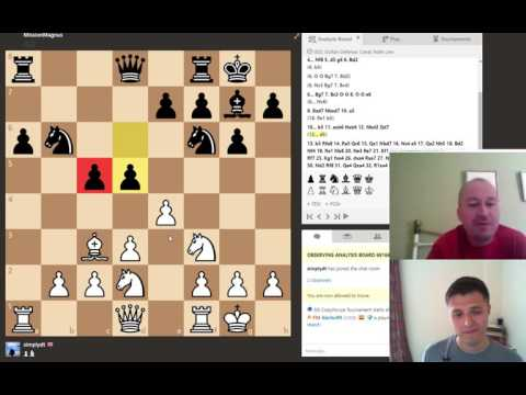 GM Alex Colovic Analyses Sicilian Canal/Moscow Attack by 1,800 player w/white (Chess #5)