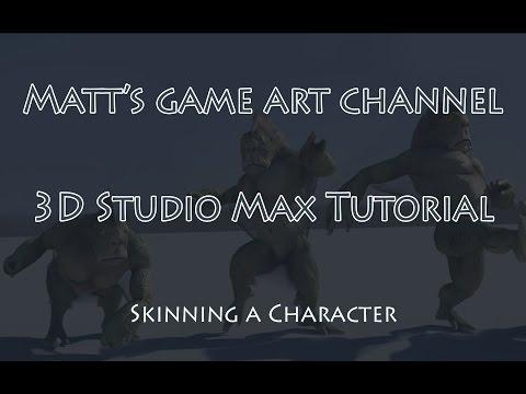 3D Studio Max Skinning tutorial
