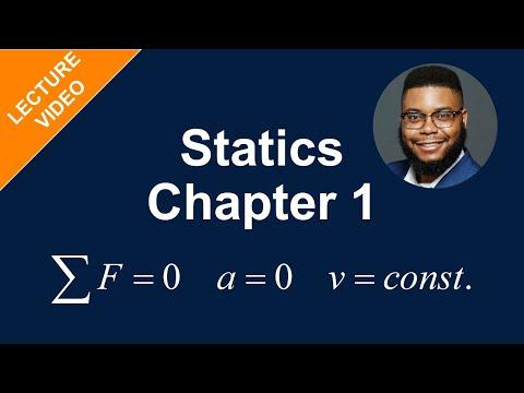 MECH 1321: Statics - Chapter 1