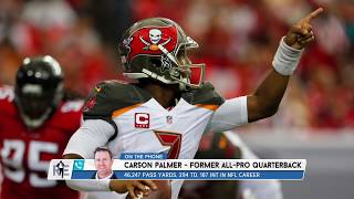 Carson Palmer on Jameis Winston's Interceptions & Future w/ the Bucs | The Rich Eisen Show | 1/8/20