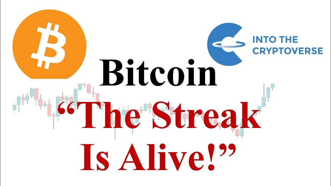 Bitcoin Keeps The Streak Alive!