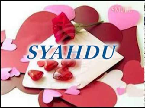Rhoma-Syahdu lyric