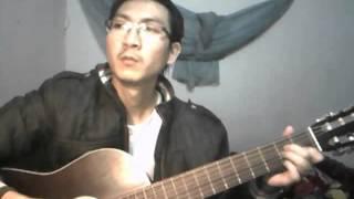 thu sau guitar