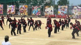高岡高校2012年体育祭 32H応援合戦