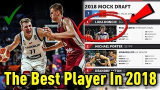 Is luka doncic the best player in the 2018 nba draft class? | 2018 #1 pick