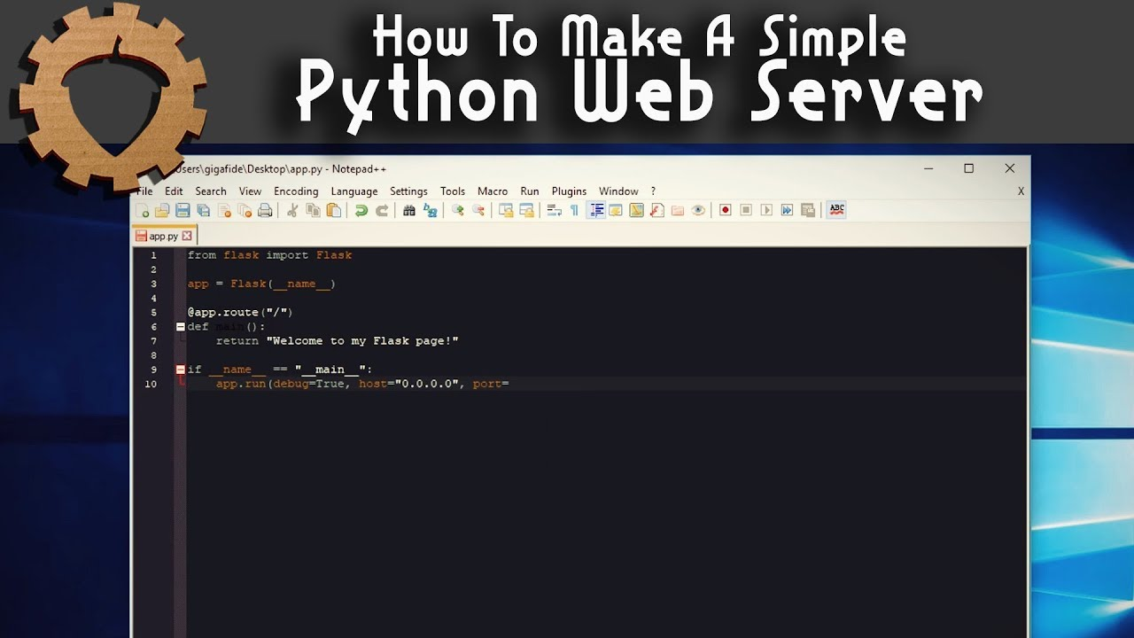 How To Make A Simple Python Web Server