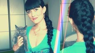 Вывернутая / обратная французская коса / видео УРОК