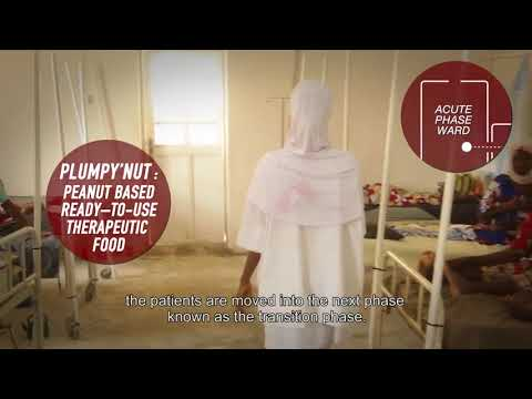 A look inside a Therapeutic Feeding Centre in Nigeria