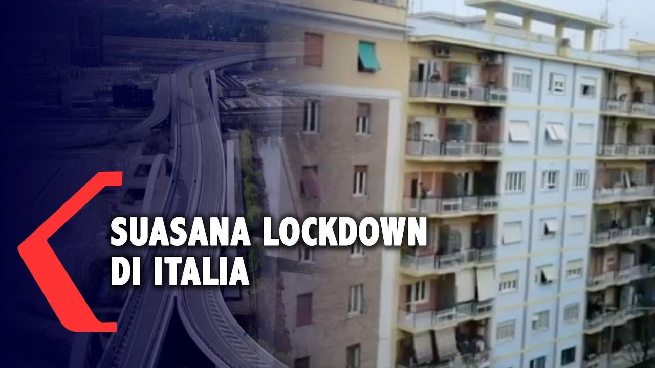 Suasana Italia di Tengah Lockdown Akibat Virus Cor