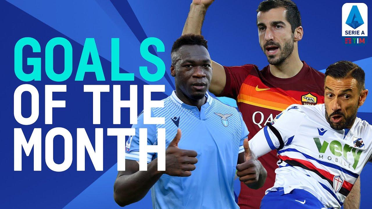 Caicedo, Quagliarella, Mkhitaryan & more! | Goals of The Month | November 2020 | Serie A TIM