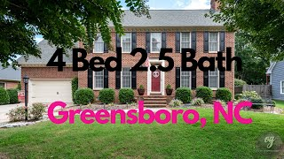 🔥 JUST LISTED🔥 4 BED 2.5 Bath 3402 Terrault Drive Greensboro NC 27410