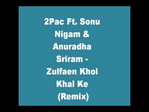 2Pac Ft. Sonu Nigam & Anuradha Sriram - Zulfaen Khol Khal Ke (Remix)