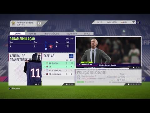 Modo Carreira com o Benfica FIFA 18   #7