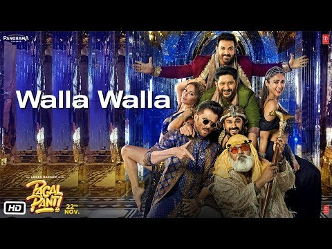 Walla Walla Video Song - Pagalpanti